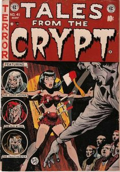 Tales from the crypt - if I were to have any words tattooed they would have to be on this script!