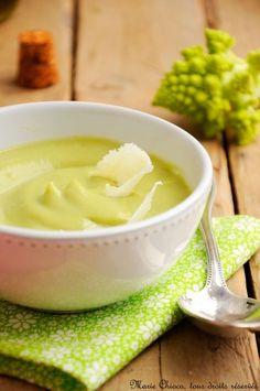 { Une soupe délicieusement veloutée à IG bas , sans pommes de terre, (ni beurre, ni crème)… } - Saines Gourmandises
