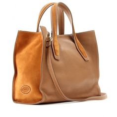 Tod's - SHOPPING MEDIUM LEATHER TOTE                                                                                                                                                                                 More