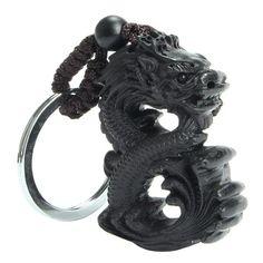 Handmade Chinese Dragon Keychain Love keychain Keychain