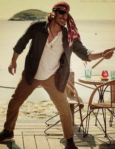 Duke as a Pirate #Haven_SYFY. Did I post Pirate!Duke? Do I care if I post it again? No.