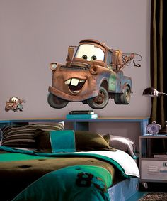 Mater Giant Peel & Stick Wall Decal by Disney•Pixar Cars on #zulily today! $12 but leaving the site quickly @Heather Brown @Kristin Brown