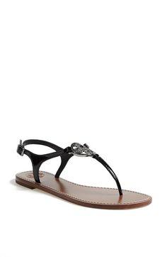 169da84a2efb  Violet  Patent Leather Thong Sandal. Tory Burch ...