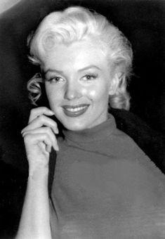 """""""Marilyn Monroe, c. 1953. """""""