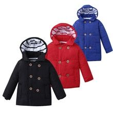 fea57910d7f57 MUQGEW 2018 Hot Sale Winter Kid Baby Boy Girl Hooded Jacket Chidren Warm Thick  Coat Outerwear Clothes Dropshipping Baby Clothes(China)