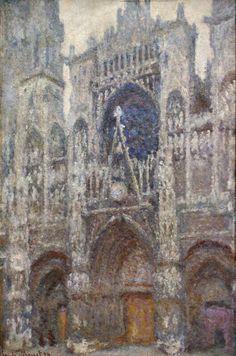La cathédrale de Rouen par Claude Monet