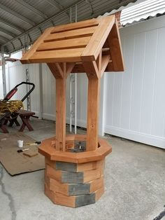 Wishing Well 100% made from 2x4's