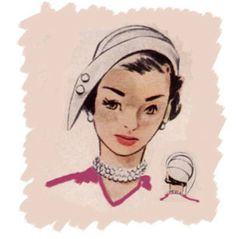 Vintage Hat patterns on Pinterest | Cloche Hats, Sewing Patterns and ...