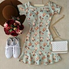 Outfits For Teens, Cool Outfits, Summer Outfits, Summer Dresses, Girl Fashion, Fashion Looks, Fashion Outfits, Womens Fashion, Cute Dresses