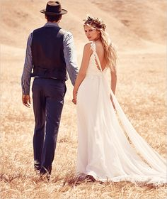NEW @freepeople wedding dresses. See the entire collection here http://www.weddingchicks.com/free-people-fpeverafter-bridal-collection/