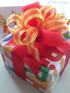 Birthday Gift Wrap Wrapping Bows Present Creative