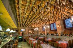 Jamon Serrano, Toledo, Spain. @Ciria Brewer Brewer Salazar el lugar de tus sueños!! :-)