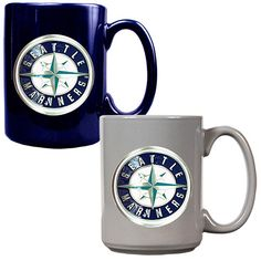 Seattle #Mariners 2pc Ceramic Mug Set $29.99