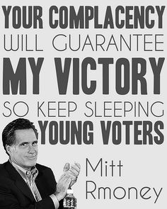 #Youth #College #University VOTE like your future depends on it; because it does!