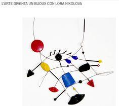 Tra le protagoniste della mostra SheMakes: Lora Nikolova. Ecco alcuni esempi delle sue opere. Dal 16 marzo al THotel di Cagliari, ingresso libero. #shemakes