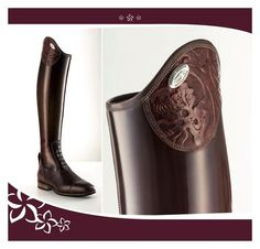 Equestrian apparel mixed with high, vintage and commercial fashion, its versatility, and long time influence on fashion design itself. Riding Breeches, Brown Riding Boots, Equestrian Outfits, Saddles, My Ride, Me Too Shoes, Style Me, Shoe Boots, Leather