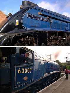 Describes the streamlined Gresley Pacifics Train Car, Train Tracks, Steam Trains Uk, Severn Valley, Old Wagons, Steam Railway, Railroad Photography, British Rail, Rolling Stock