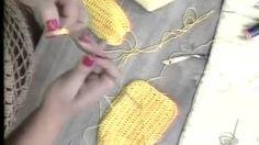 biquini de croche - YouTube