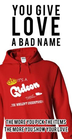 Its a Gideon Thing, You Wouldnt Understand !! tshirt, t shirt, hoodie, hoodies, year, name, birthday