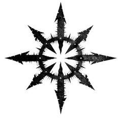 Chaos star | Art & Tats | Pinterest | Chaos tattoo ...