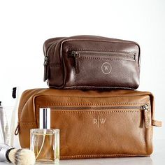 Everyday Leather Travel Pouch