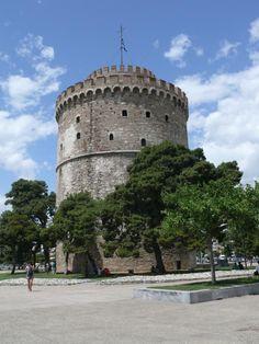 Photo by Valerie_Yordanova Greece Thessaloniki, Macedonia, Tents, Perfect Place, Buildings, Greek, Castle, Architecture, World
