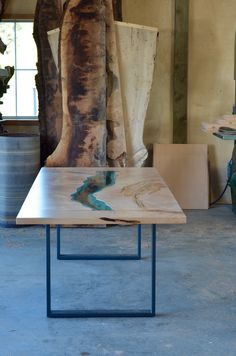 *NEW* river dining table / Greg Klassen