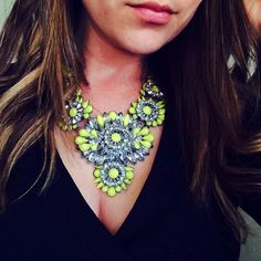 "Spotted while shopping on Poshmark: ""Neon statement necklace""! #poshmark #fashion #shopping #style #Jewelry"