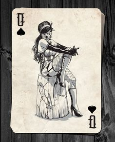 Stephen Lewis is raising funds for Day of the Dolls - Pin-Up Playing Cards Deck RELAUNCH! on Kickstarter! Classic Pin-up Playing Cards inspired by The Day of the Dead. Joker Playing Card, Playing Cards Art, Custom Playing Cards, Hand Holding Card, Cholo Art, Queen Of Spades, Cartomancy, Deck Of Cards, Card Deck