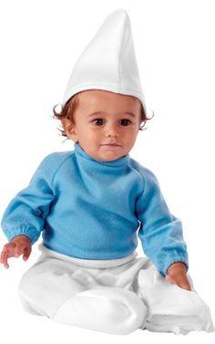 Fácil de hacer! Pitufito! #disfraz #costume #bebe