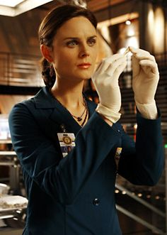 "Smarty-pants Temperance Brennan (Emily Deschanel) from ""Bones""."