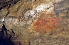 Font de Gaume - Cave Paintings from the Ice Ages Female Reindeer, Art Pariétal, Paleolithic Art, Art Rupestre, Lascaux, Most Famous Paintings, Early Humans, Dordogne, Prehistoric Animals