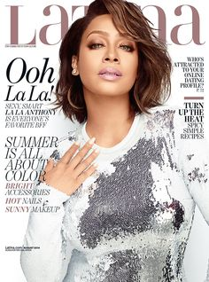 La La Anthony Graces The Cover Of Latina Magazine