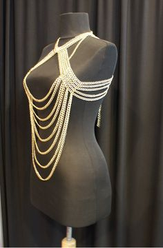 body chain necklace.