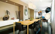 Eat in your own personal dining area at the Smyth TriBeCa Penthouse in New York City