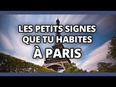 Top des petits signes que tu habites à Paris - YouTube