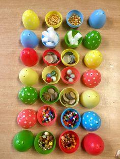 muziek memory van eieren - de spelende kleuter
