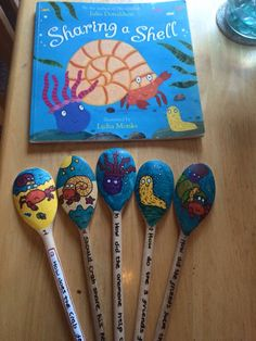 Story spoons - sharing a shell