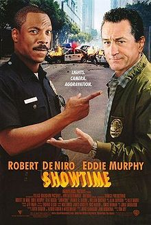 Is he a Beverly Hills cop or a Hollywood cop (Eddie Murphy)? He and Robert DeNiro play bad boys coupled for a reality show where cameras ride along. Murphy grooves to the surreality of TV reality, while DeNiro thinks somebody should analyze it.