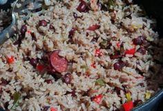 Congri rijst met bonen