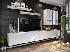 Flat Screen, Relax, The Unit, Furniture, Style Ideas, Products, Modern, Tv Storage, Daily Inspiration