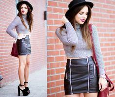 Daniela Ramirez - Nasty Gal Skirt, Nasty Gal Shoes - About town...