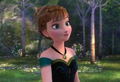 """I got Anna!!!Which """"Frozen"""" Character Are You"""