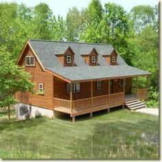 log cabins | spirit cabins homes may be shown with various options and