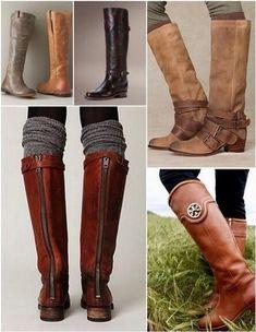 A empezar a preparar el otoño... The best boots