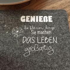 [ plotterit! ] Mein neues Filzset with lettering... HELLO 2015! | AlleinMein... genähte Freude !