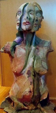 Ceramic-Mixed-media-sculpture-by-jonislittledolls-on-Etsy,