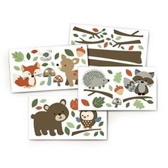 Carter's Forest Friends Wall Decals | from hayneedle.com