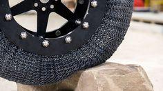Luftloser, unzerstörbarer Nasa-Reifen