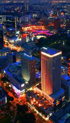 Singapore night!